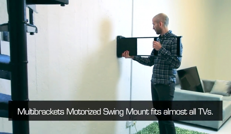 MB4500 - Motorised Swing Mount Large & CIE AV Solutions Multibrackets Motorised Swing Mount Large MB4500